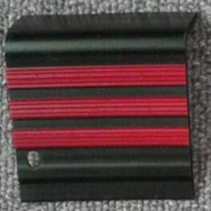 step nosing hitam list merah